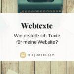 Texte für Deine Website schreiben - Tipps und Tricks