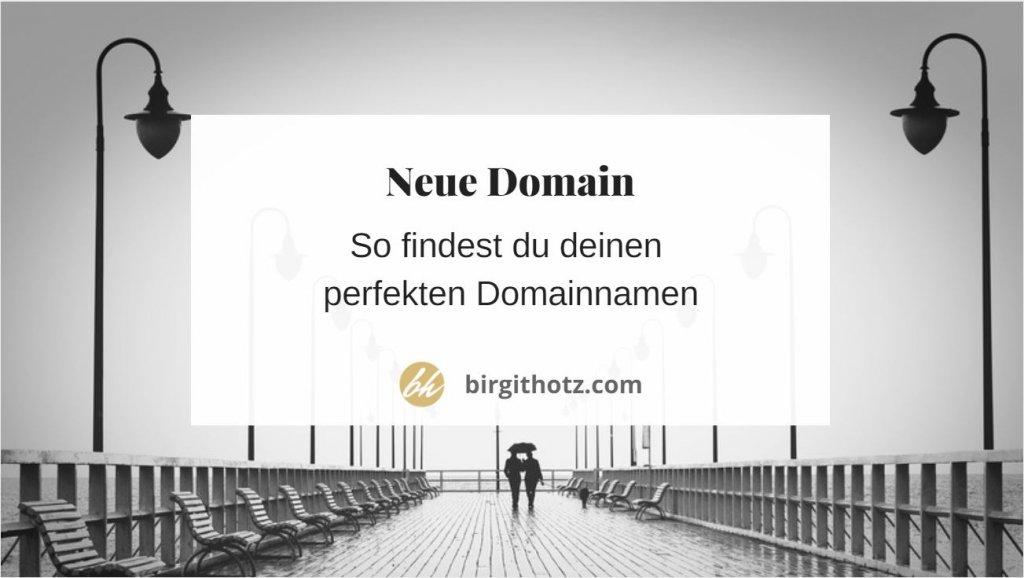 So findest du den perfekten Domainnamen für deine Website