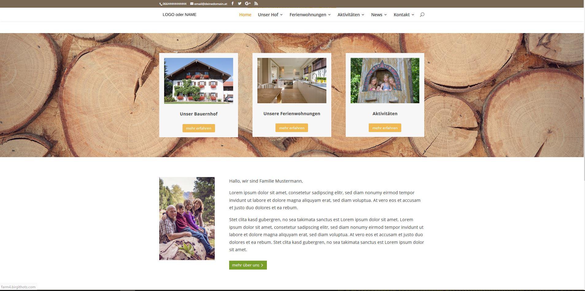 Profildatierung Website Beispiel