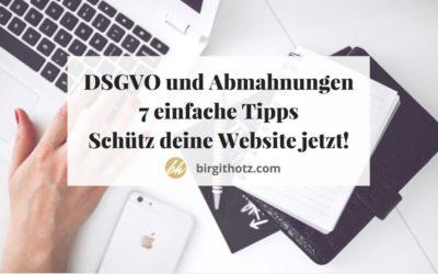 7 einfach umzusetzende Tipps, mit denen du deine Website vor teuren Abmahnungen schützt