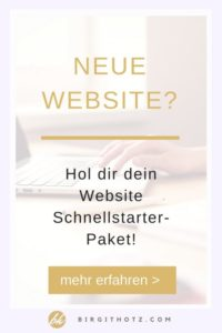 Website selbst erstellen