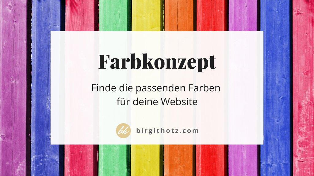 So findest du passende Farben für dein Website Farbkonzept