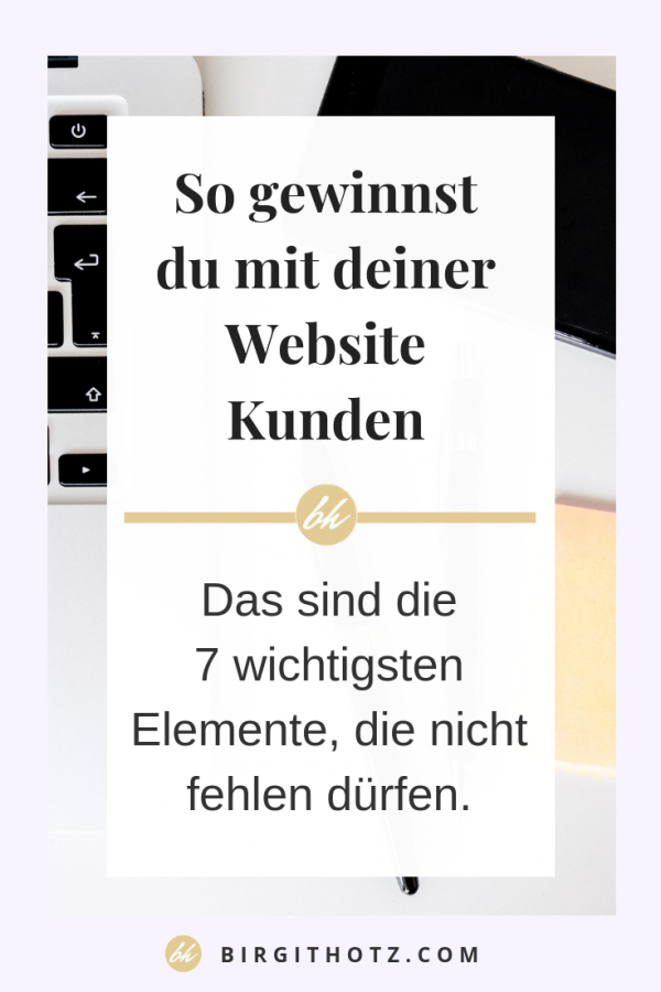 kundengewinnende Website