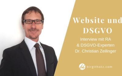 Website und DSGVO