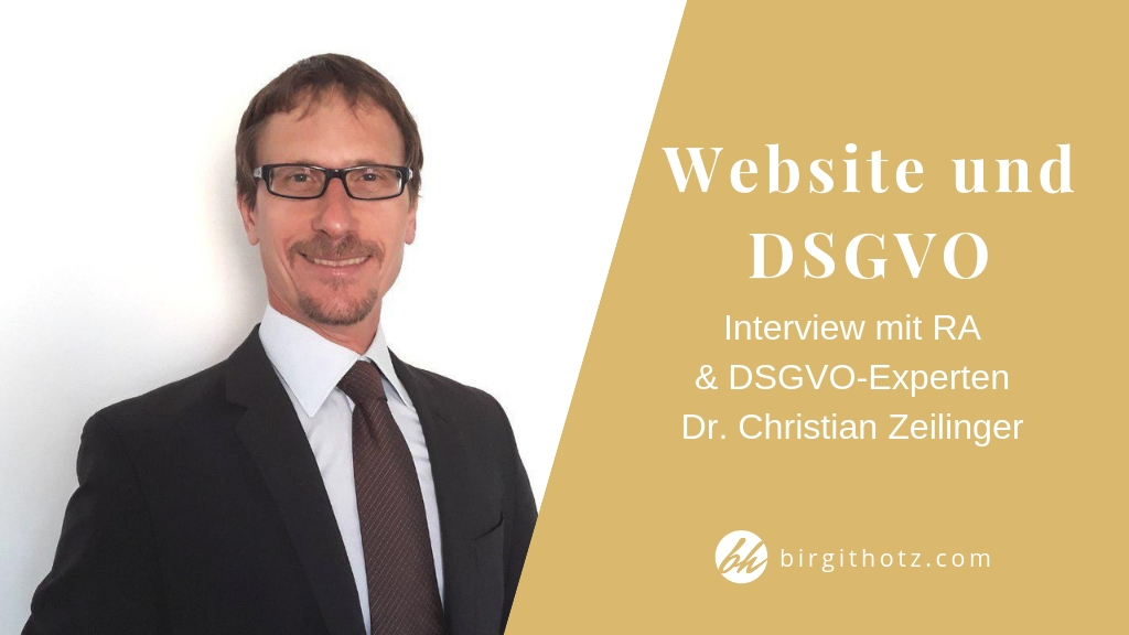 Website DSGVO konform