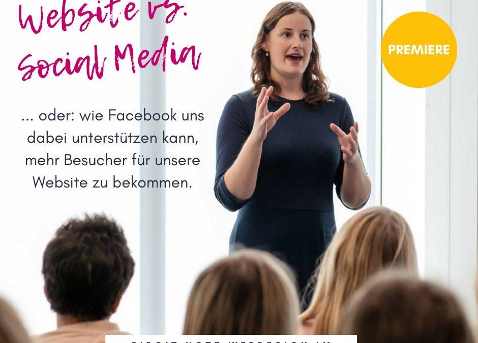 Facebook Marketing Tipps für mehr Websitebesucher – Interview mit Katrin Hill