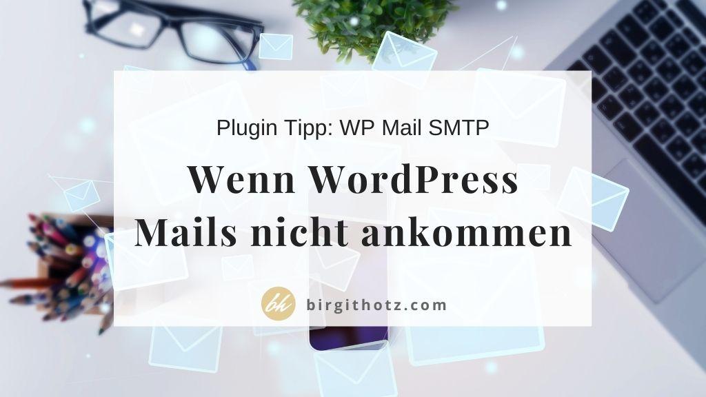 wordpress e-mails kommen nicht an