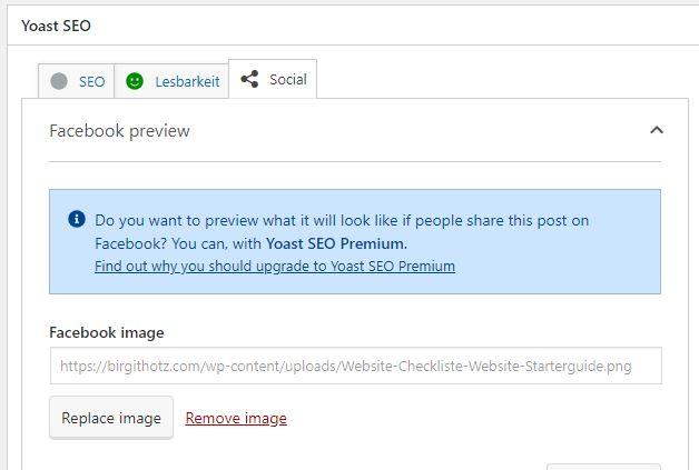 Vorschaubild für LinkedIn Beiträge ändern