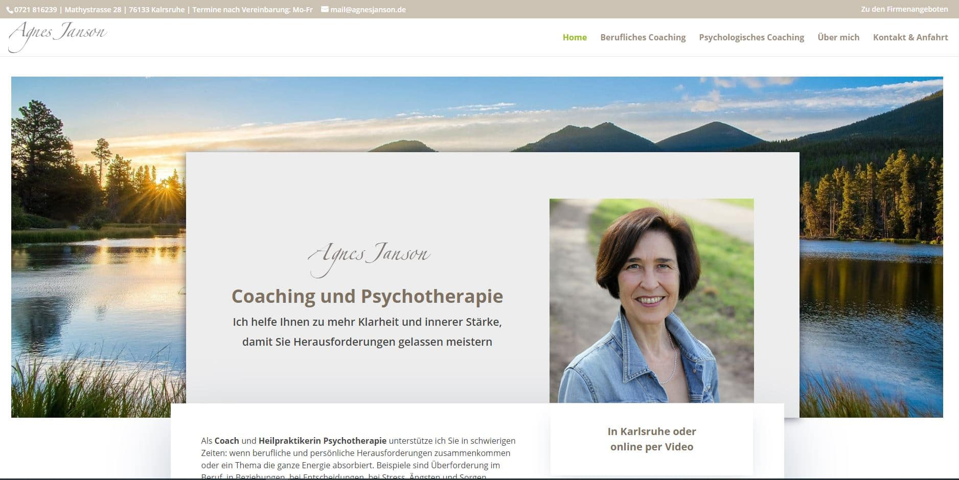 Website Divi WordPress Referenz