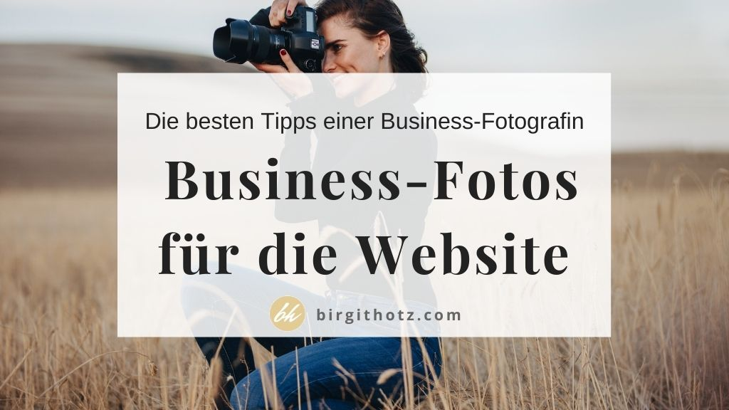 fotografin beim website shooting