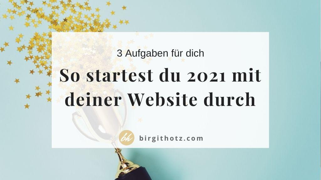 erfolgreiche gute website